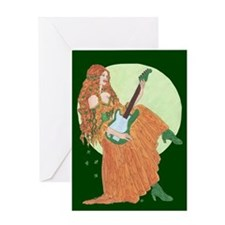 electric lady ireland Greeting Cards