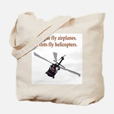 Helicopter Pilots Tote Bag