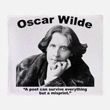 Wilde: Poet Throw Blanket