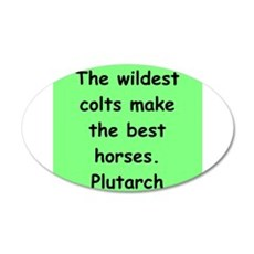 PLUT7 20x12 Oval Wall Decal