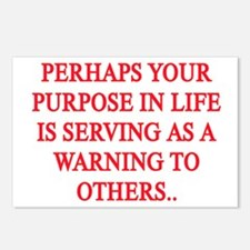YOUR PURPOSE IN LIFE Postcards (Package of 8)