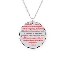 19.png Necklace Circle Charm