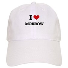 I Love Morrow Baseball Cap