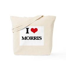 I Love Morris Tote Bag