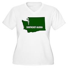 Southeast Alaska, Washington Sta Plus Size T-Shirt