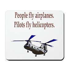 Heli pilots - CH-46 Mousepad