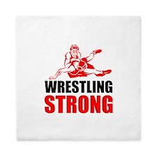 Wrestling Strong Queen Duvet