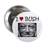 Clinton Loves Bush Button (100 pk)