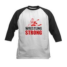 Wrestling Strong Baseball Jersey