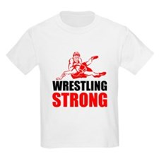 Wrestling Strong T-Shirt