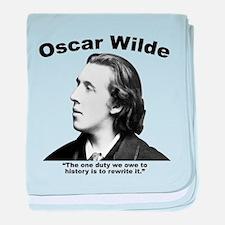 Wilde: History baby blanket