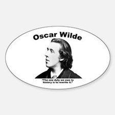 Wilde: History Decal