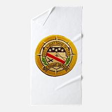 USS ALBERT DAVID Beach Towel