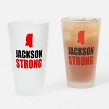 Jackson Strong Drinking Glass