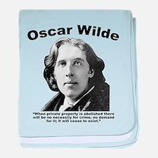 Wilde: Crime baby blanket