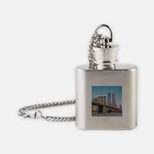 New York Flask Necklace
