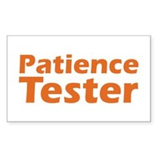 Patience Rectangle Decal