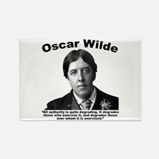 Wilde: Authority Rectangle Magnet