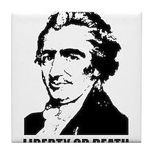 Thomas Paine Liberty Tile Coaster