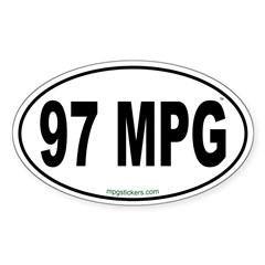 97 MPG Euro Decal