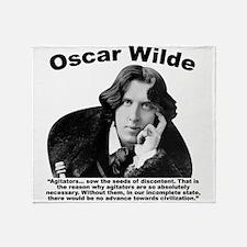 Wilde: Agitators Throw Blanket
