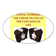 postal worker Decal