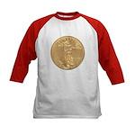 Gold Liberty 1986 Kids Baseball Jersey