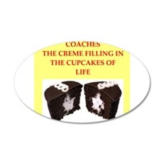 coach 35x21 Oval Wall Decal