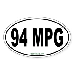 94 MPG Euro Decal