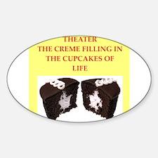 theater Sticker (Oval)