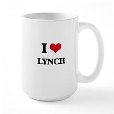 I Love Lynch Mugs