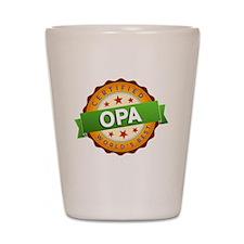World's Best Opa Shot Glass