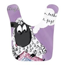 Counting Sheep Bib