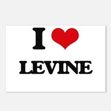 I Love Levine Postcards (Package of 8)