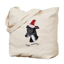 Howliday Whippet Tote Bag