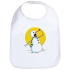 Evil Snowman 2 Bib
