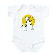 Evil Snowman 2 Infant Bodysuit