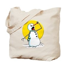 Evil Snowman 2 Tote Bag