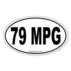 79 MPG Euro Decal