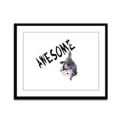 Awesome Possum Framed Panel Print