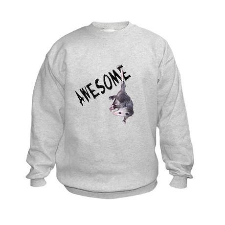 Awesome Possum Kids Sweatshirt