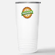 World's Best Grandpa Stainless Steel Travel Mug