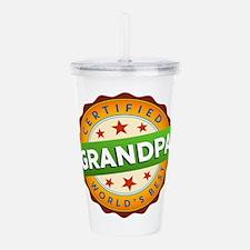 World's Best Grandpa Acrylic Double-wall Tumbler