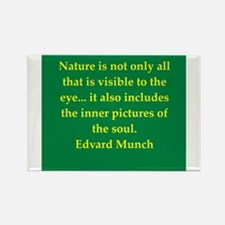 munch9.png Rectangle Magnet