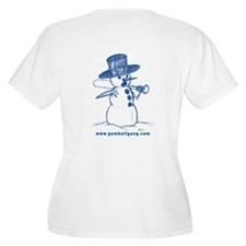 Evil Snowman 3 T-Shirt