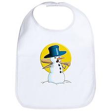 Evil Snowman 3 Bib