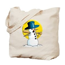 Evil Snowman 3 Tote Bag