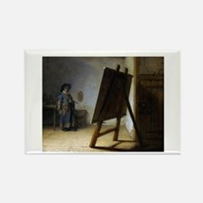 rembrant9.png Rectangle Magnet