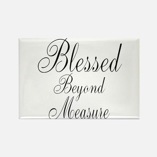 Blessed Beyond Measure Black Magnets