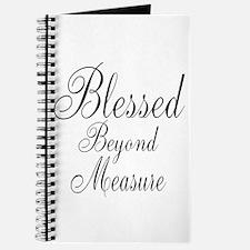 Blessed Beyond Measure Black Journal
